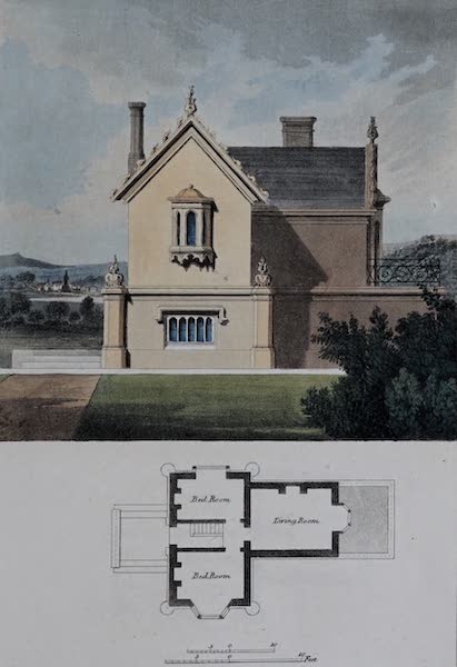 Retreats : A Series of Designs - Sporting Lodge (1827)