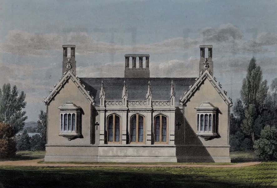 Retreats : A Series of Designs - Parsonage House (1827)
