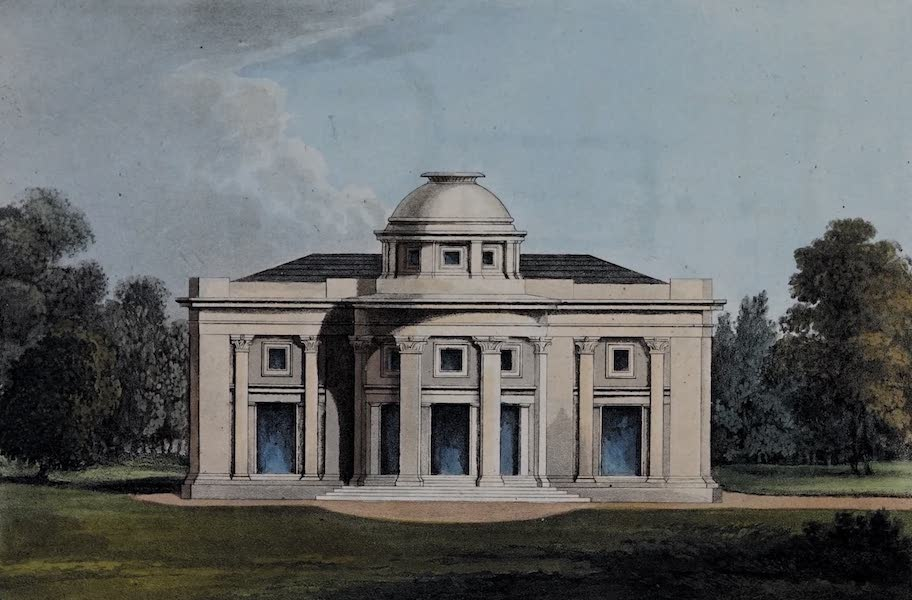 Retreats : A Series of Designs - Family Residence (1827)