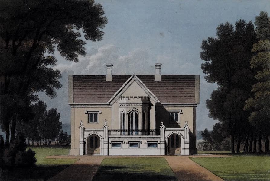 Retreats : A Series of Designs - Gothic House (1827)