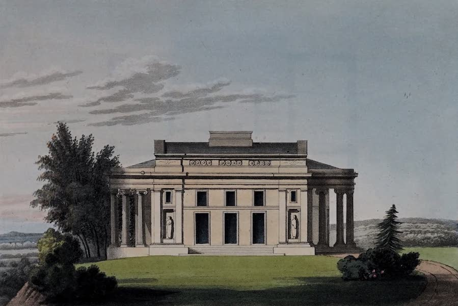 Retreats : A Series of Designs - Ionic Villa [II] (1827)