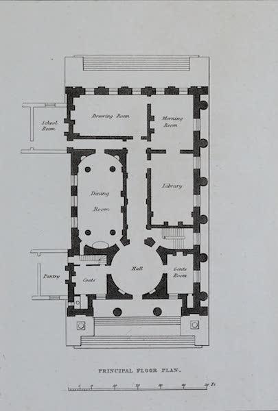 Retreats : A Series of Designs - Family Villa - Principal Floor Plan (1827)