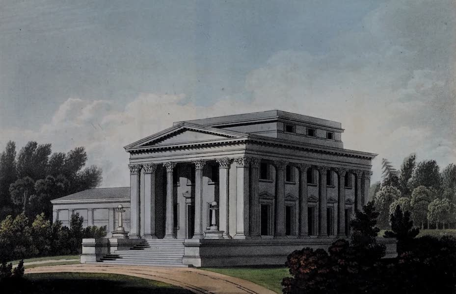 Retreats : A Series of Designs - Family Villa (1827)