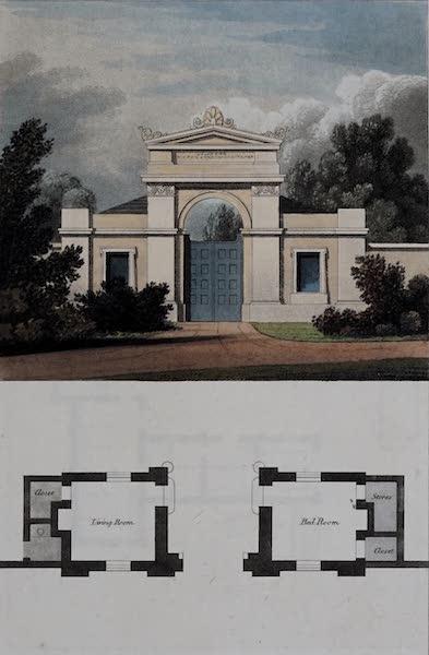 Retreats : A Series of Designs - Park Entrance (1827)