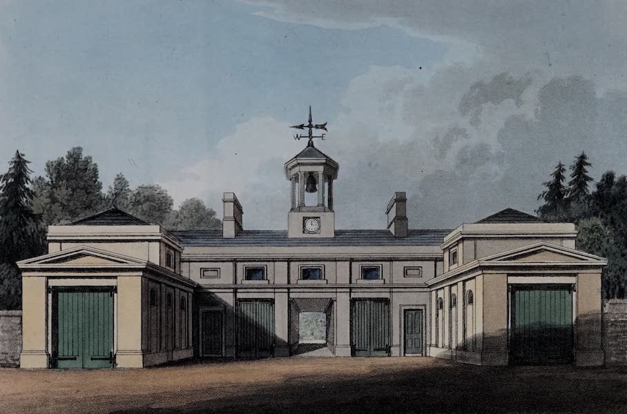 Retreats : A Series of Designs - Stable Buildings (1827)
