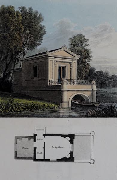 Retreats : A Series of Designs - Fishing Lodge (1827)