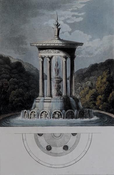 Retreats : A Series of Designs - Aquatic Temple (1827)