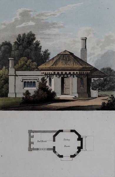 Retreats : A Series of Designs - Rustic Lodge (1827)