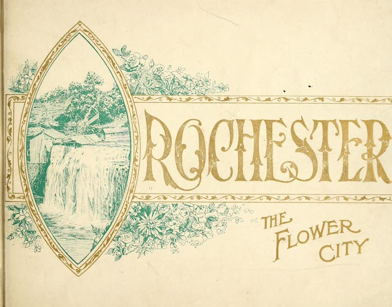 Rochester, the Flower City - Front Cover (1905)