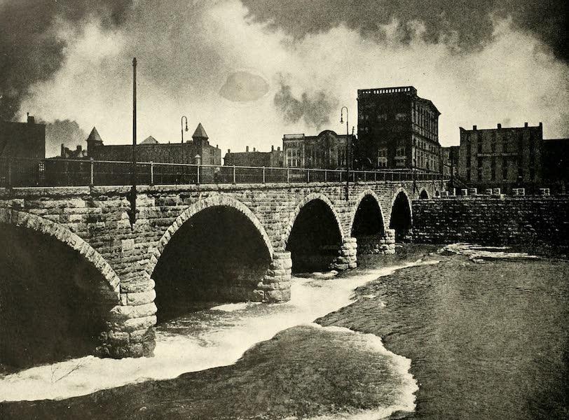 Rochester, the Flower City - Court Street Bridge (1905)