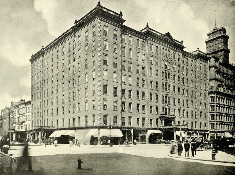 Rochester, the Flower City - Powers Hotel (1905)