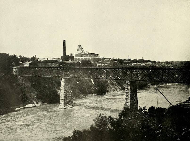 Rochester, the Flower City - Gorge of the Genesee River (1905)