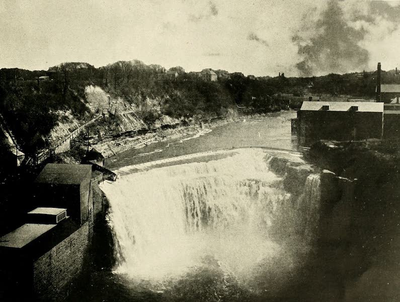 Rochester, the Flower City - Lower Falls of the Genesee River [I] (1905)