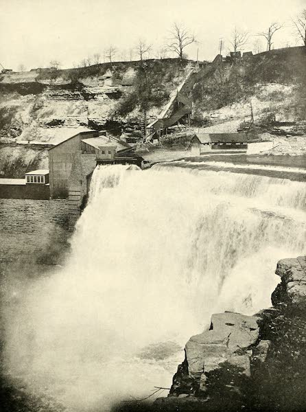Rochester, the Flower City - Lower Falls of the Genesee River [II] (1905)