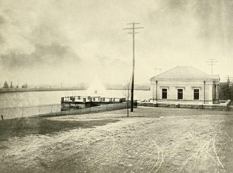 Rochester, the Flower City - The Reservoir, Highland Park (1905)