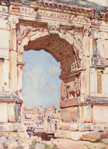 Rome, Painted and Described - Arch of Titus (1905)