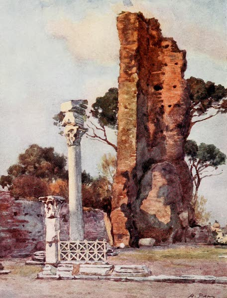 Rome, Painted and Described - Flavian Basilica on the Palatine (1905)