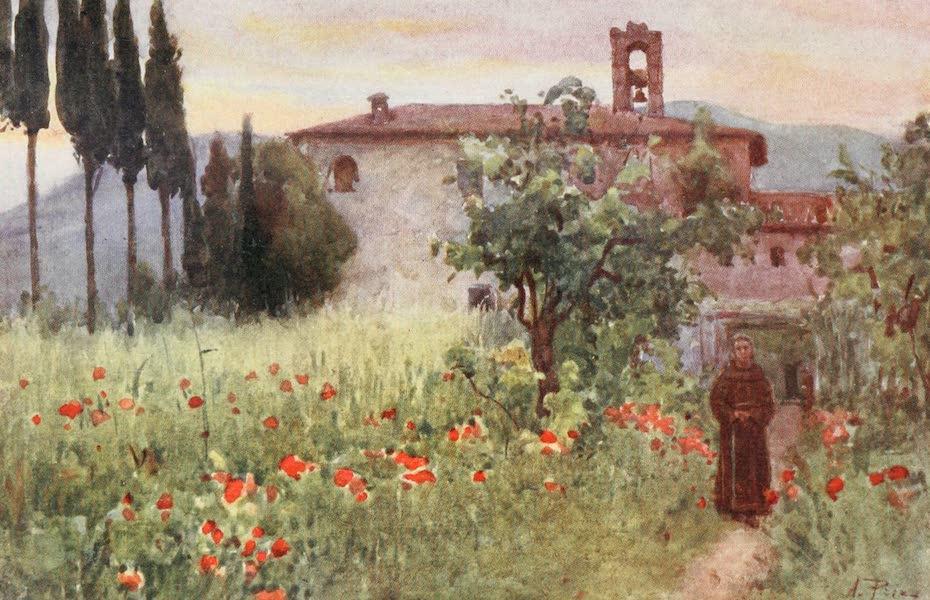 Rome, Painted and Described - Convent Garden of San Cosimato, Vicovaro (1905)
