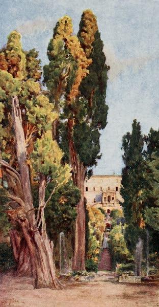 Rome, Painted and Described - Villa d'Este, Tivoli (1905)