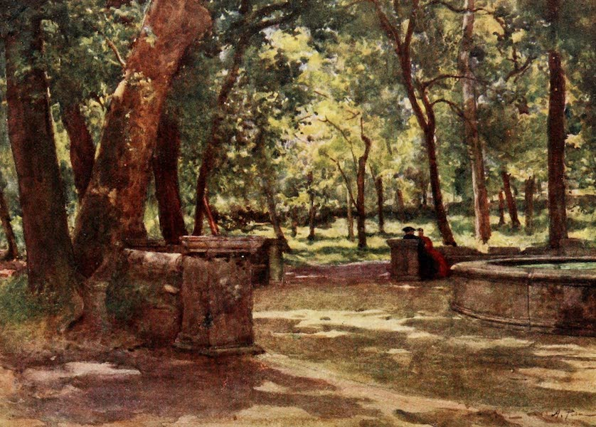 Rome, Painted and Described - In Villa Borghese (1905)