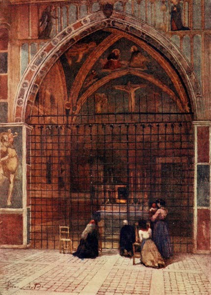 Rome, Painted and Described - Chapel of the Passion in the Church of San Clemente (1905)