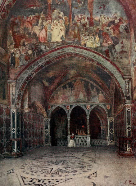 Rome, Painted and Described - Chapel of San Lorenzo Loricato at S. Benedict's, Subiaco (1905)
