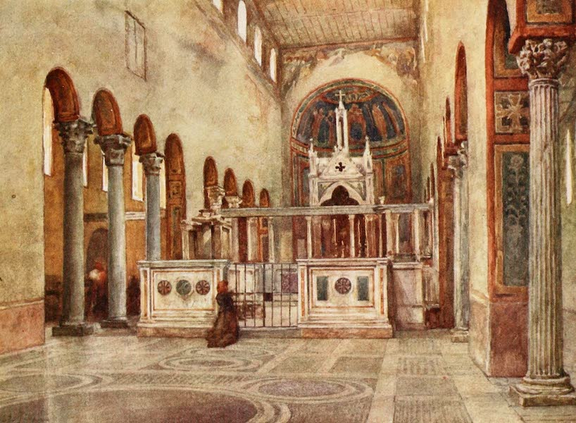Rome, Painted and Described - Santa Maria in Cosmedin (1905)