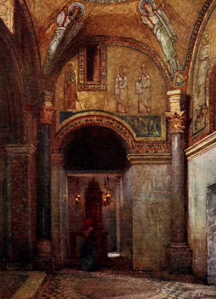 Rome, Painted and Described - Chapel of San Zeno (called orto del paradiso) in S. Prassede (1905)