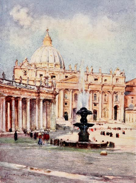 Rome, Painted and Described - Saint Peter's (1905)