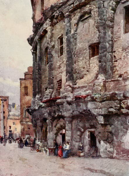 Rome, Painted and Described - Theatre of Marcellus (1905)