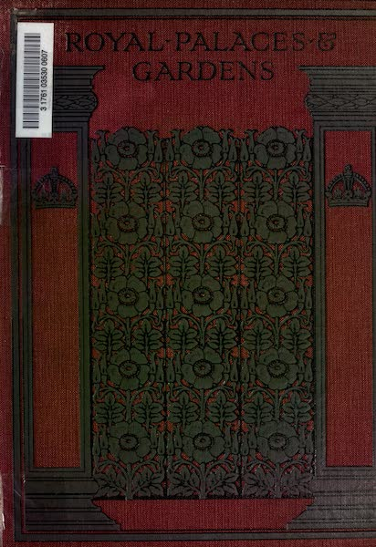 Royal Palaces and Gardens - Front Cover (1916)
