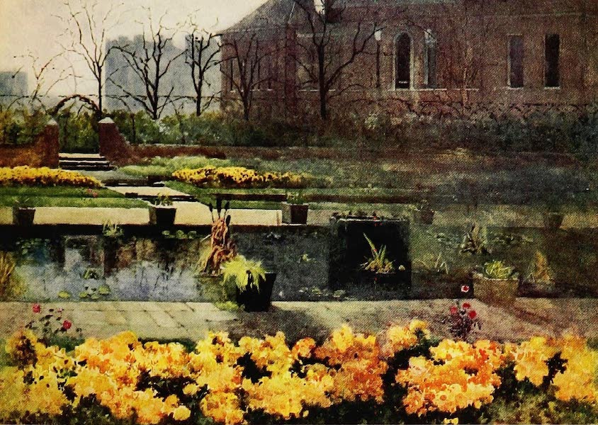 Royal Palaces and Gardens - The Dutch Garden, Kensington Palace (1916)
