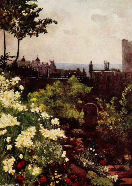 Royal Palaces and Gardens - King James's Steps, Windsor Castle (1916)