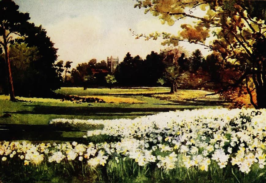 Royal Palaces and Gardens - The Church, Sandringham (1916)