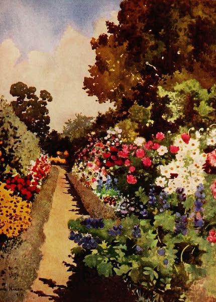 Royal Palaces and Gardens - Herbaceous Border, Villa Hvidore (1916)