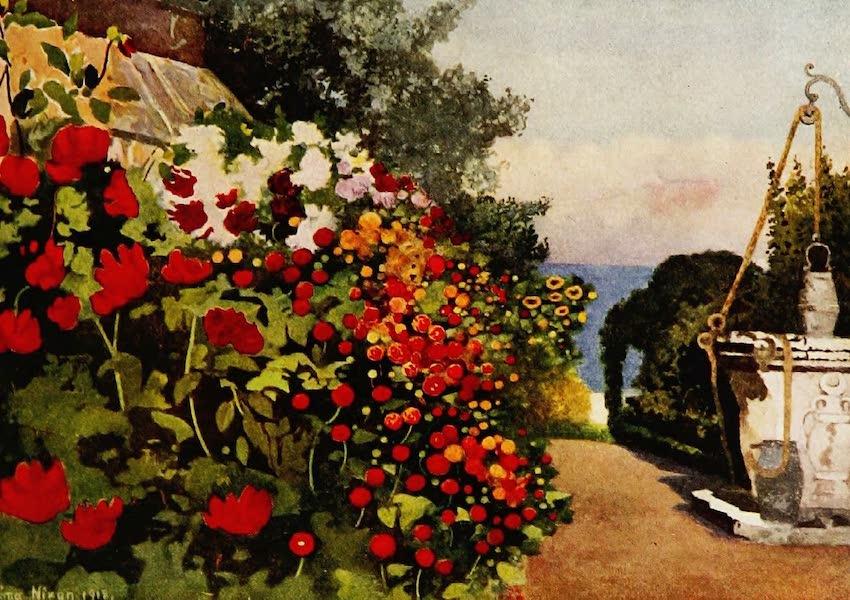 Royal Palaces and Gardens - The Dahlia Border, Villa Hvidore (1916)