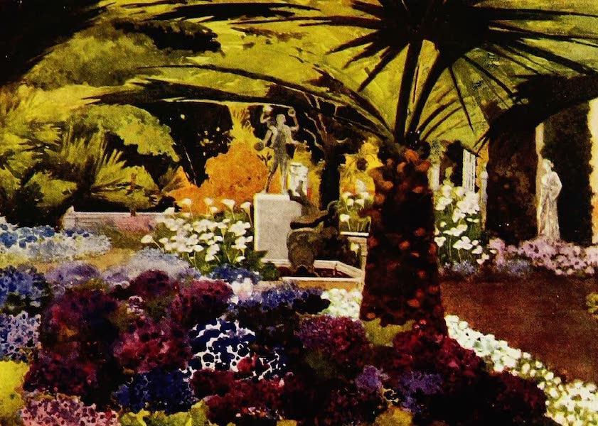 Royal Palaces and Gardens - Cinerarias, Achilleion, Corfu (1916)