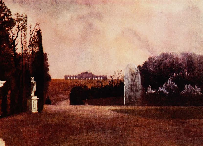 Royal Palaces and Gardens - The Gloriette, Schonbrunn (1916)