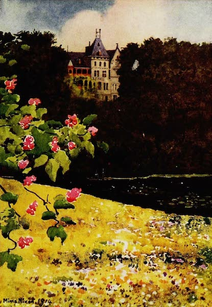 Royal Palaces and Gardens - Schloss zu Gmunden, from the Chestnut Avenue (1916)