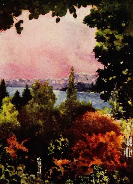 Royal Palaces and Gardens - Lake Constance from Schloss Mainau (1916)