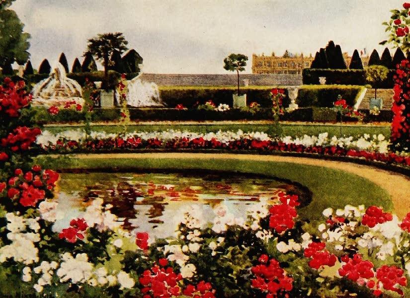 Royal Palaces and Gardens - The Parterre de Latone, Versailles (1916)