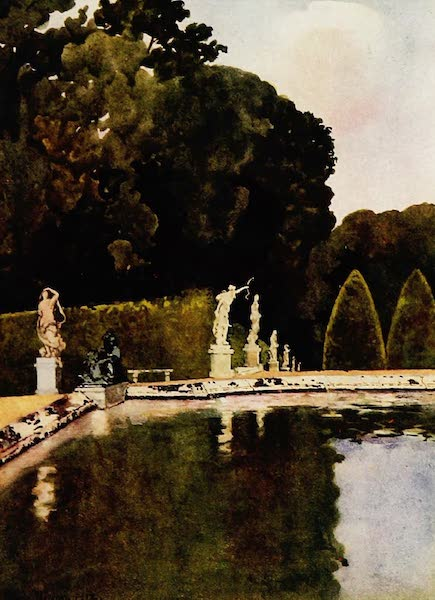 Royal Palaces and Gardens - The Fountain of Diana, Versailles (1916)