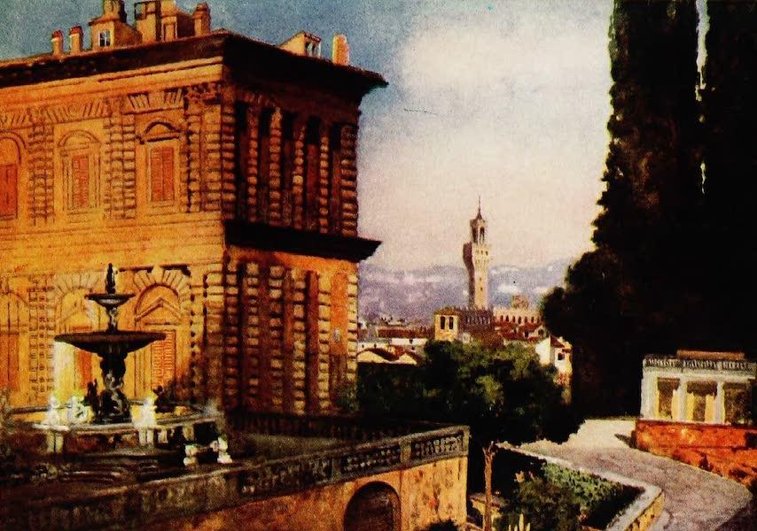Royal Palaces and Gardens - Boboli Gardens, Florence (1916)