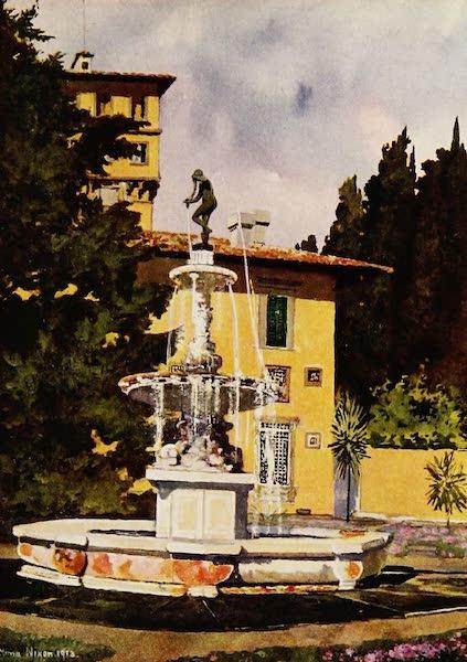 Royal Palaces and Gardens - The Villa Petraja, Florence (1916)