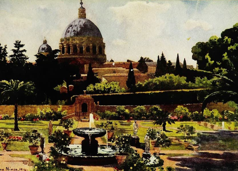 Royal Palaces and Gardens - The Sunk Garden, the Vatican, Rome (1916)