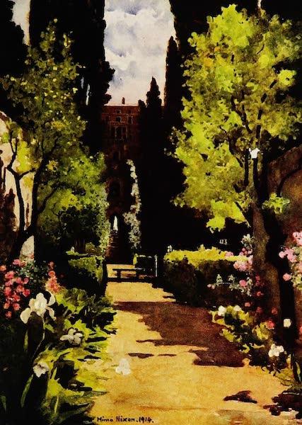 Royal Palaces and Gardens - The Villa d'Este, Rome (1916)