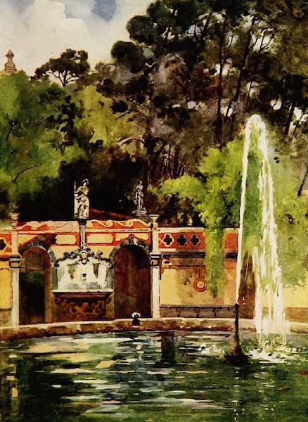 Royal Palaces and Gardens - Necessidades Palace, Lisbon (1916)