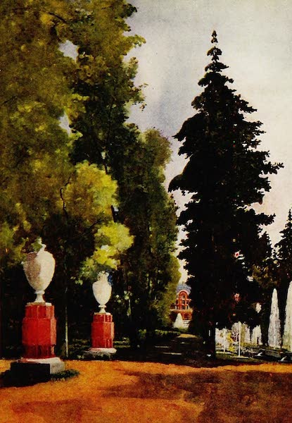 Royal Palaces and Gardens - The Fountains, Peterhof (1916)