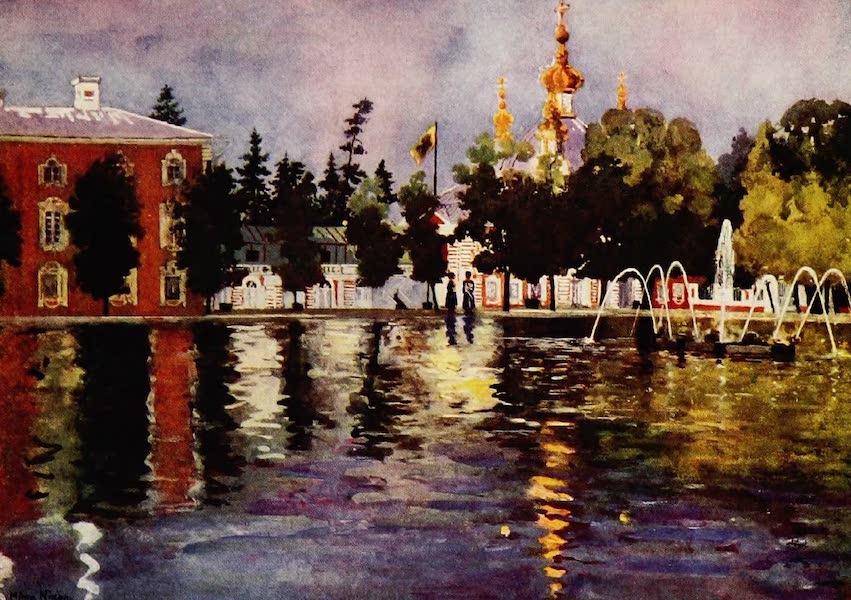 Royal Palaces and Gardens - The Tsar's Church, Peterhof (1916)