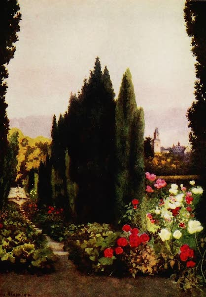 Royal Palaces and Gardens - The Rose Garden, Friedrichshof (1916)